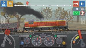 Train simulator 2d railroad game mod apk android 0.1.83 screenshot