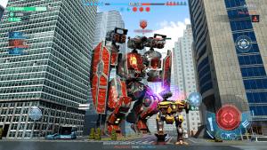 War robots 6v6 tactical multiplayer battles mod apk android 7.2.1 screenshot