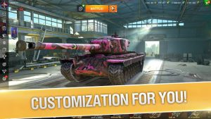 World of tanks blitz pvp mmo 3d tank game for free mod apk android 8.1.0.631 screenshot