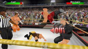 Wrestling empire mod apk android 1.2.4 screenshot