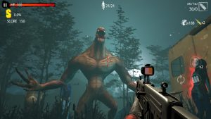 Zombie shooting game zombie hunter d day mod apk android 1.0.823 screenshot