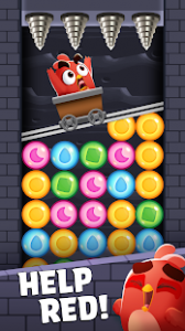 Angry birds dream blast bubble match puzzle mod apk android 1.33.2 screenshot