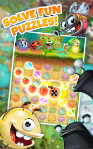 Best fiends free puzzle game mod apk android 9.6.5 screenshot