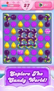 Candy crush saga mod apk android 1.209.1.1 screenshot