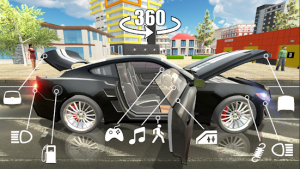 Car simulator 2 mod apk android 1.38.3 screenshot