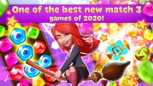 Charms of the witch magic mystery match 3 games mod apk android 2.43.2 screenshot