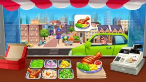 Crazy chef food truck restaurant cooking game mod apk android 1.1.58 screenshot