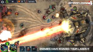 Defense legend 4 sci fi tower defense mod apk android 1.0.25 screenshot