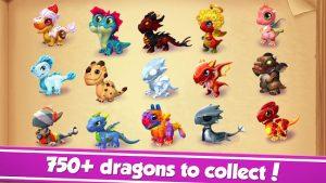 Dragon mania legends mod apk android 6.3.0k screenshot