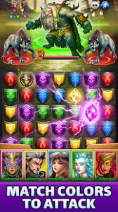 Empires & puzzles epic match 3 mod apk android 40.0.0 screenshot