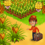 Farm Paradise Fun farm trade game at lost island MOD APK android 2.26