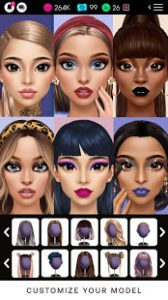 Glamm'd style & fashion dress up game mod apk android 1.7.3 screenshot