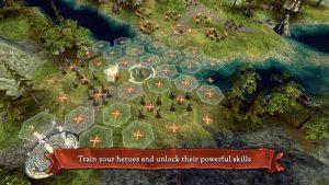 Hex commander fantasy heroes mod apk android 4.8 screenshot
