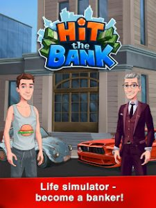 Hit the bank career, business & life simulator mod apk android 1.7.9 screenshot
