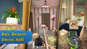 House flipper home design & simulator games mod apk android 1.071 screenshot