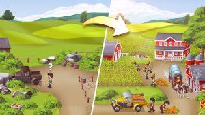 Idle farming tycoon build farm empire mod apk android 0.0.4 screenshot