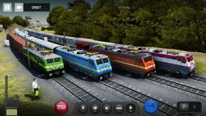 Indian train simulator mod apk android 2021.4.5 screenshot