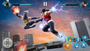 Karate king fight offline kung fu fighting games mod apk android 1.9.5 screenshot