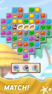 Match town makeover town renovation match 3 puzzle mod apk android 1.13.1400 screenshot