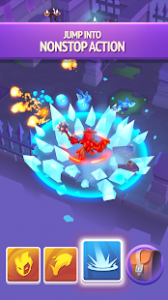 Nonstop knight 2 action rpg mod apk android 2.5.5 screenshot