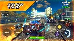 Race rocket arena car extreme mod apk android 1.0.40 screenshot