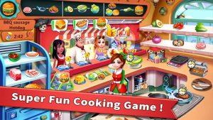 Rising super chef craze restaurant cooking games mod apk android 5.9.1 screenshot