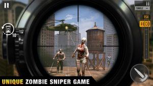 Sniper zombies offline shooting games 3d mod apk android 1.40.1 screenshot