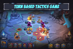 Tactical monsters rumble arena tactics & strategy mod apk android 1.19.9 screenshot