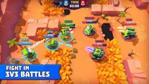 Tanks a lot 3v3 battle arena mod apk android 3.15 screenshot