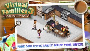 Virtual families 3 mod apk android 1.7.6 screenshot