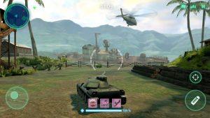 War machines tank army game mod apk android 5.25.1 screenshot