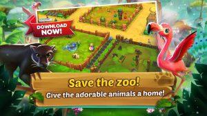 Zoo 2 animal park mod apk android 1.63.0 screenshot