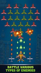 1945 air force airplane games mod apk android 9.03 screenshot