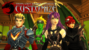 Adventurequest 3d mmo rpg mod apk android 1.76.0 screenshot