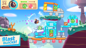 Angry birds journey mod apk android 1.8.0 screenshot