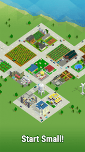 Bit city build a pocket sized tiny town mod apk android 1.3.1 screenshot