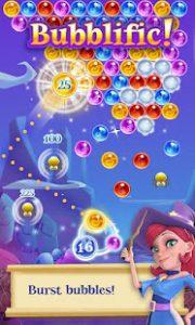 Bubble witch 2 saga mod apk android 1.133.0 screenshot