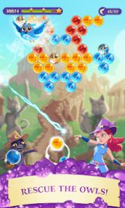 Bubble witch 3 saga mod apk android 7.11.18 screenshot