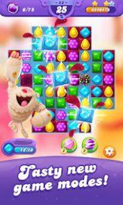 Candy crush friends saga mod apk android 1.64.3 screenshot