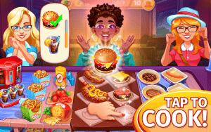 Cooking craze restaurant game mod apk android 1.74.1 screenshot