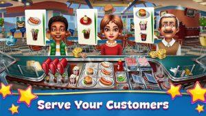 Cooking fever restaurant game mod apk android 13.1.0 screenshot