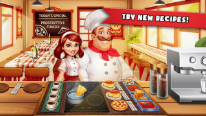 Cooking madness a chef's restaurant games mod apk android 1.9.8 screenshot