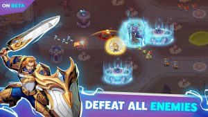 Empire defender td tower defense strategy game td mod apk android 1.0.135 screenshot