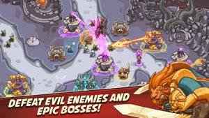 Empire warriors tower defense offline td game mod apk android 2.4.23 screenshot