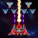 Galaxy Attack Alien Shooter MOD APK android 35.5