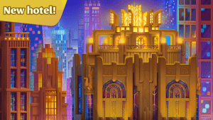 Grand hotel mania my hotel games hotel tycoon mod apk android 1.16.1.30 screenshot