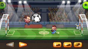 Head ball 2 online soccer game mod apk android 1.184 screenshot