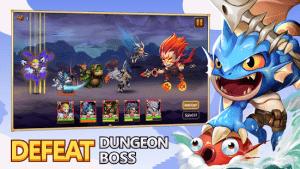 Heroes legend idle battle war mod apk android 2.4.3.2 screenshot