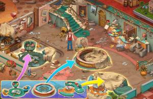 Hidden hotel miami mystery hidden object game mod apk android 1.1.69 screenshot