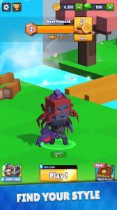 Hunt royale epic pvp battle mod apk android 1.2.5 screenshot